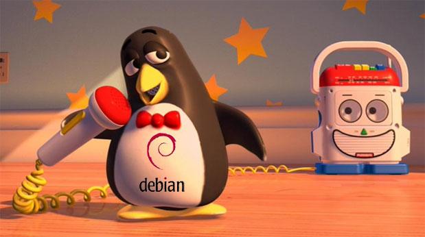 Ο πιγκουΐνος Wheezy από το Toy Story